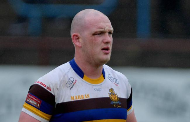 Whitehaven v Bradford Rugby League..Carl Forster..Pic Tom Kay     Sunday 17th June 2018.
