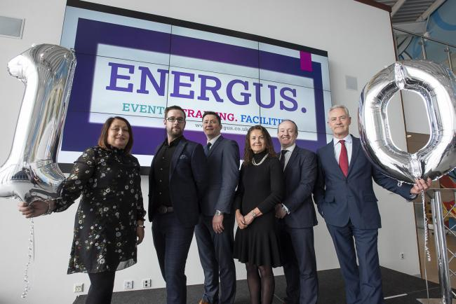 Energus celebrates its 10th anniversary Linda Bussey