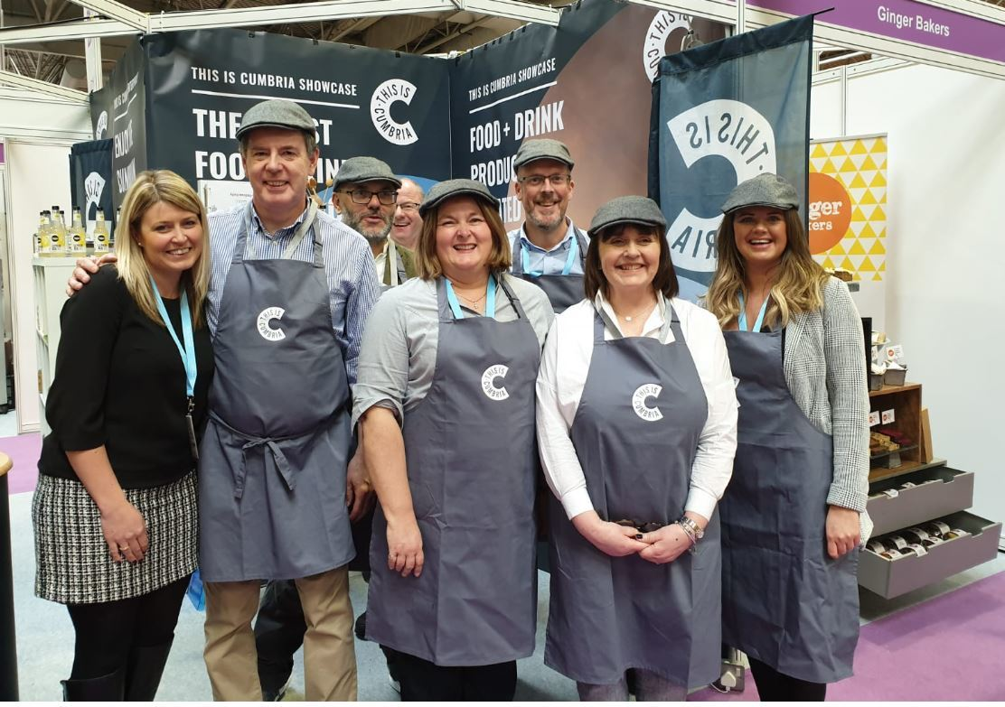 SELLING CUMBRIA: This is Cumbria at the Farm Shop and Deli Show 2019