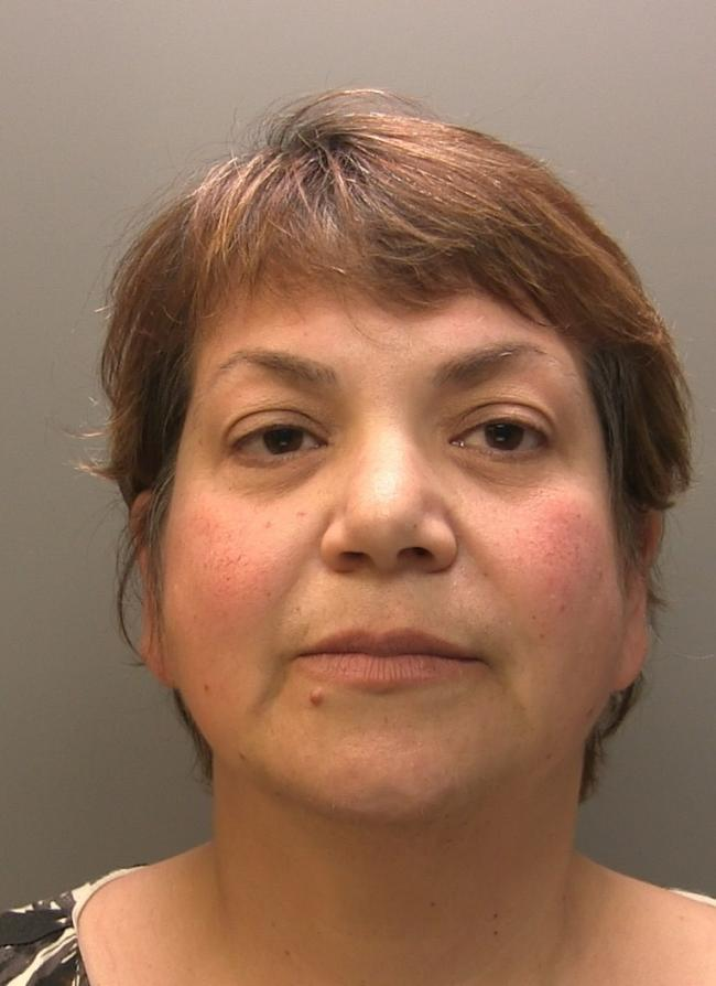 Zholia Alemi of Workington, was jailed for five years for attempting to fraud a pensioner. Submitted by Cumbria Police. (18/10/18)