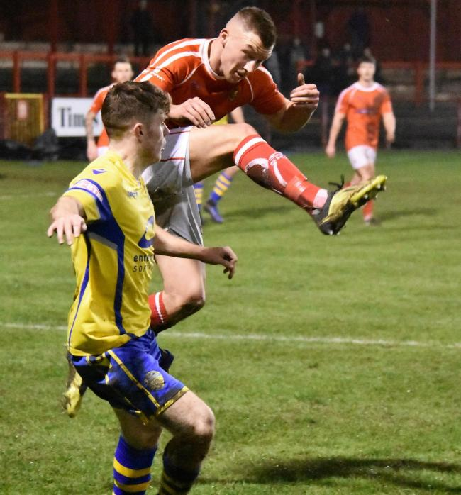 ATHLETIC TARGET: Matty Douglas is set to leave Workington Reds and head to Annan                                   Ben Challis