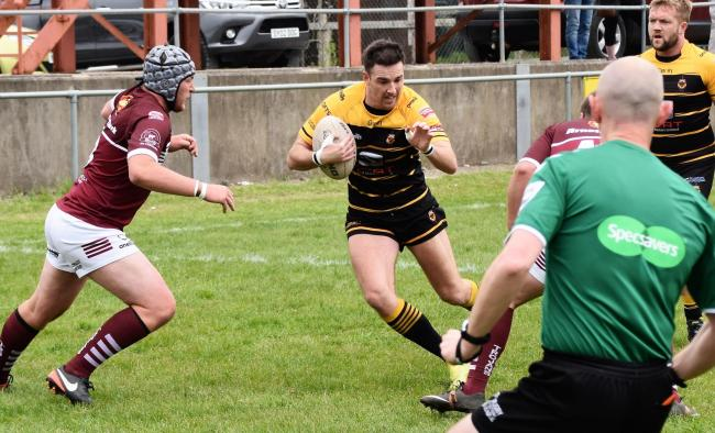 TRY-SCORER: Wath Brow's Fran King on his way in for a try            Ben Challis